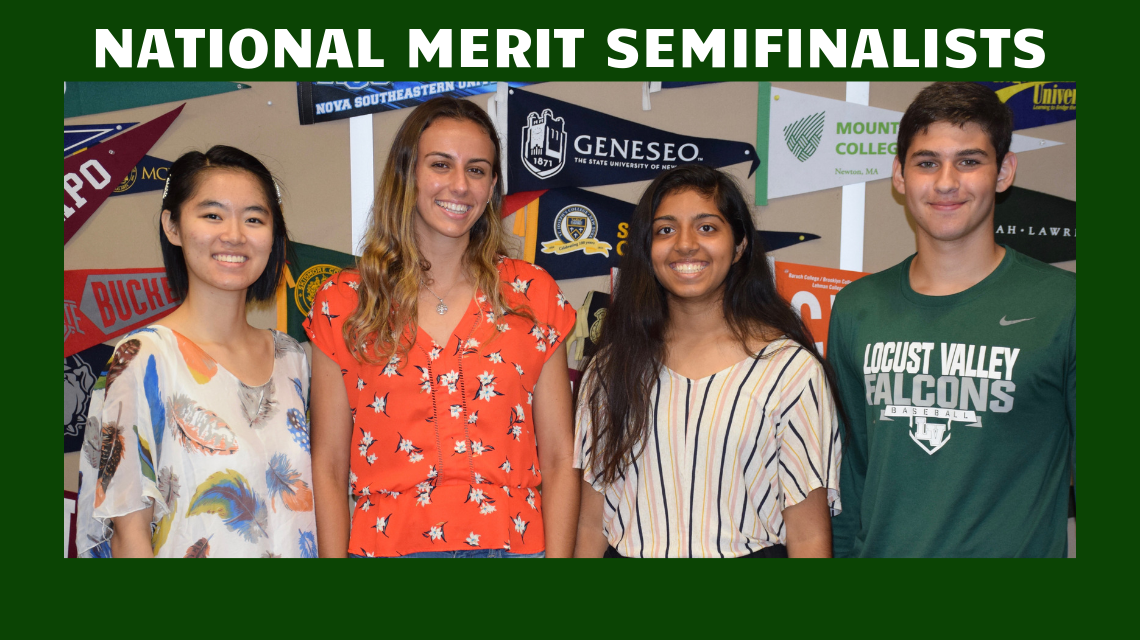 Four Seniors Named National Merit...