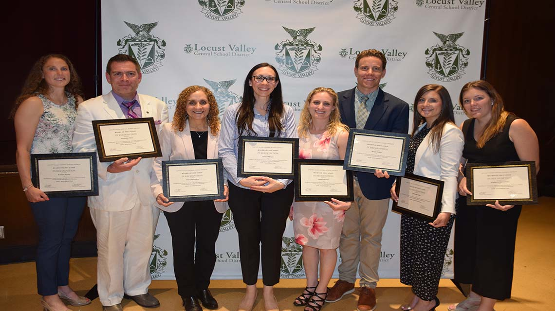Tenure Recipients Honored for...