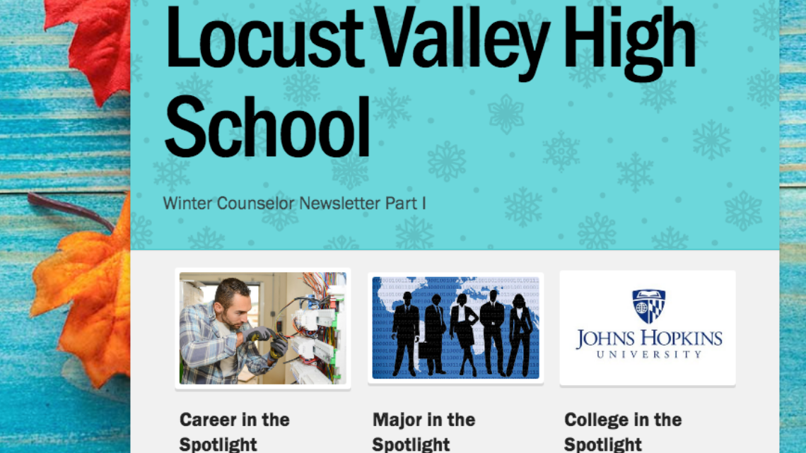 Winter Counseling Newsletter