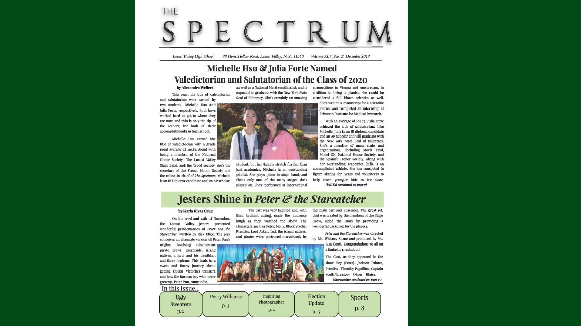 Latest Issue of The Spectrum